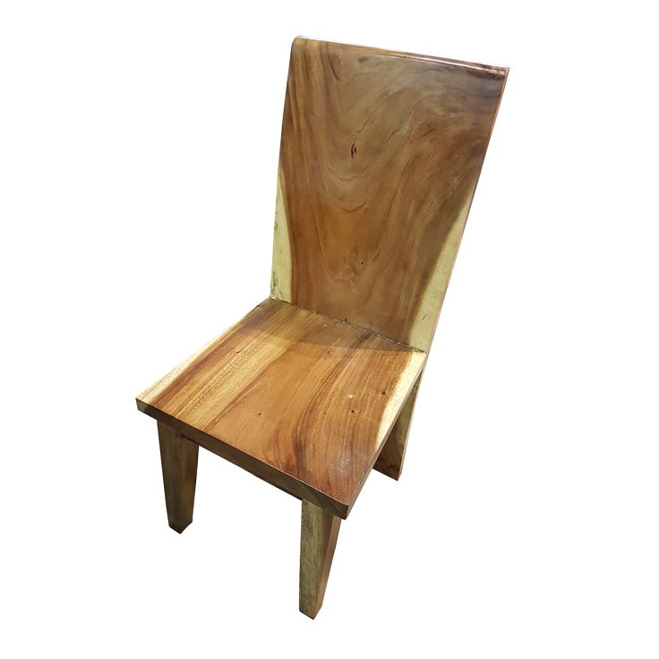 Dining Chair D - Wood. Let this suar dining chair complement the perfect dinner atmosphere.