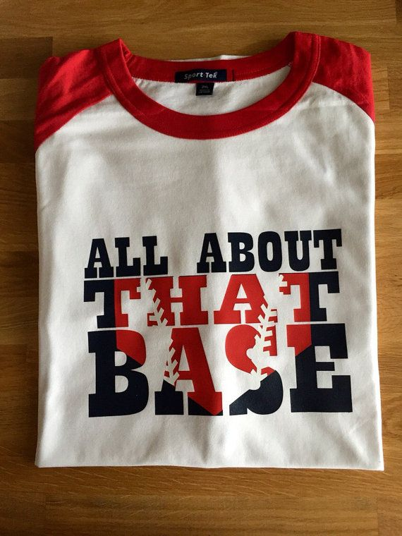 All About That Base Baseball Softball Mom Rangers by SewMacy