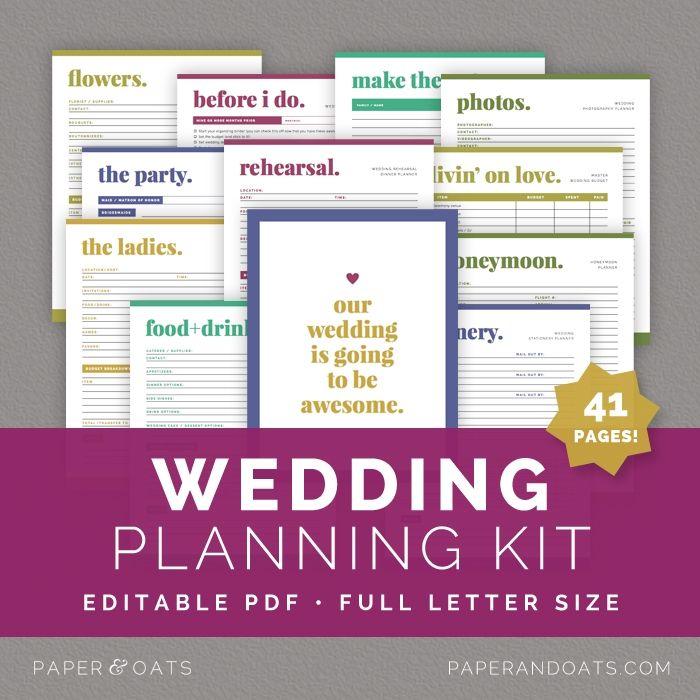 Best 25 Wedding Planning Binder Ideas On Pinterest: 25+ Best Ideas About Wedding Planner Organizer On