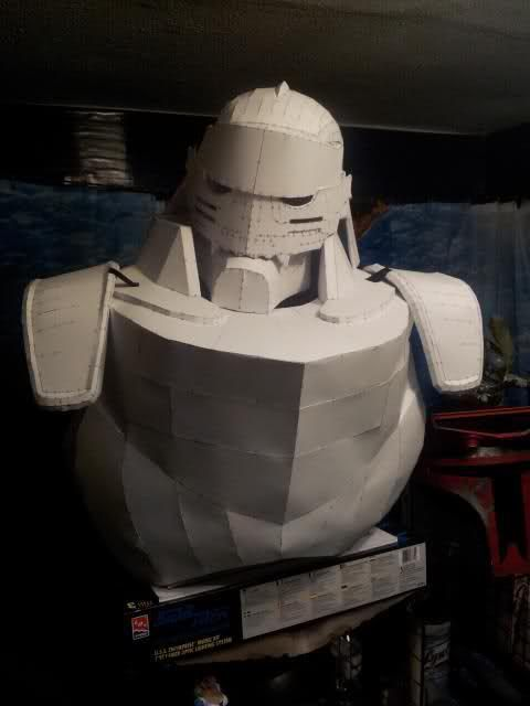 FMA Alphonse Elric Pepakura Files - Cosplay.com And I happen to know someone who can fiberglass!! Resources, Tools, and Materials for your Pepakura at www.PepakuraPros.com.
