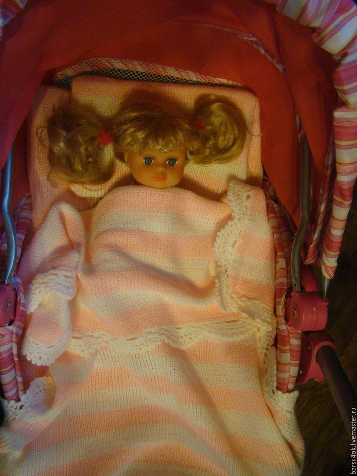 """Купить Плед, подушка и матрац """" Лиловый сон"""" - тёмно-фиолетовый, кукольное одеяло"""