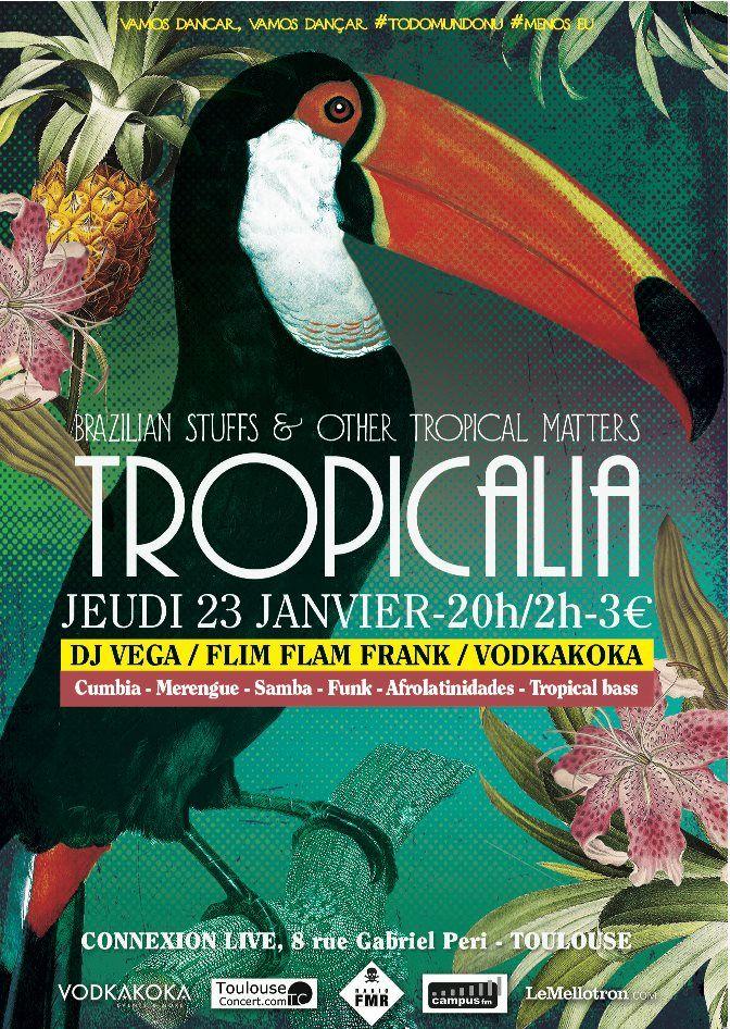 Tropicalia @Connexion, Toulouse