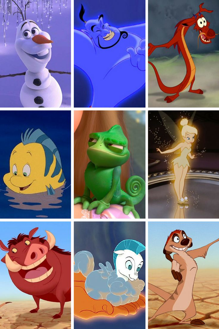 I got Pascal! Which animal sidekick are you?
