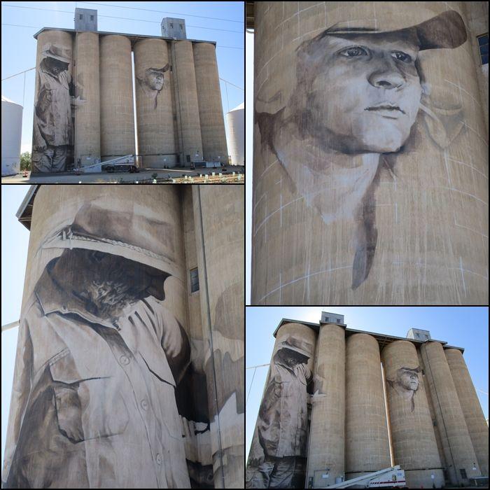 Brim Silo Art December 22 2015 Wimmera Victoria Australia silo mural