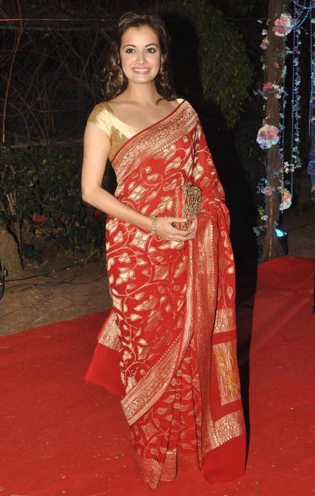 Diya Mirza at Ahana Deol wedding!