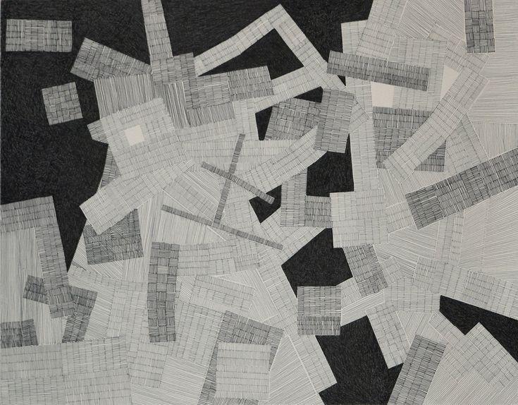 Cartographie 2 / Dominique Lutringer #ART #Contemporary ART