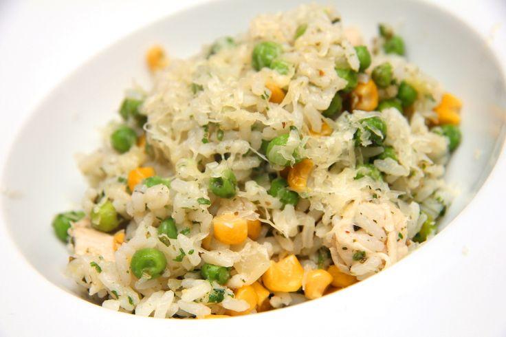 Brazil csirkés rizs recept: Ez a brazil színekben pompázó isteni egytálétel egy remek fogás! :) Készítsd el te is!