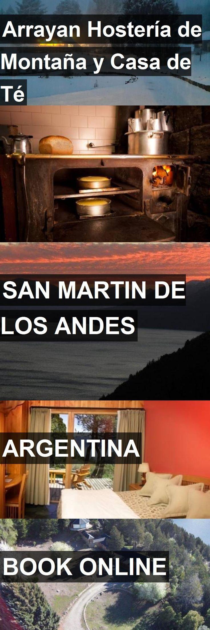 Hotel Arrayan Hostería de Montaña y Casa de Té in San Martin De Los Andes, Argentina. For more information, photos, reviews and best prices please follow the link. #Argentina #SanMartinDeLosAndes #travel #vacation #hotel