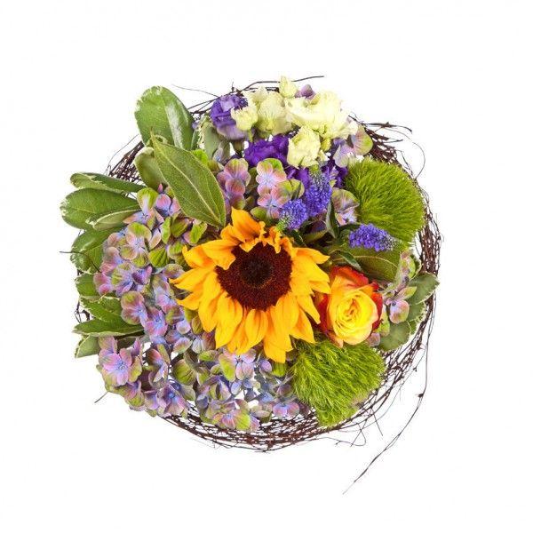 """Pflanzen-Kölle Blumenstrauß """"Sonnenkind"""": Schenken Sie Sonne - mit diesem Strauß machen Sie lieben Menschen eine ganz besonders strahlende Freude."""