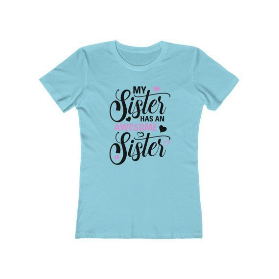 Awesome Daughters Get Promoted To Big Sisters T-Shirt Gift Girl Tee Youth Shirt