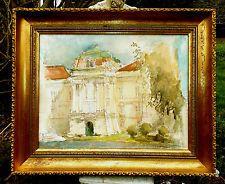 Thomas Stuart Milner (1909-1969) Excellent large Watercolour Arcadian House