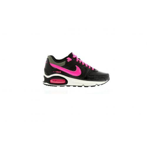 NIKE AIR MAX COMMAND (GS) black/pink De Nike Air Max Command is geïnspireerd op de iconische hardloopschoenen uit de jaren '90.