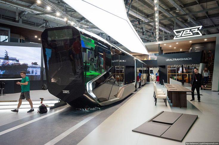 7SPY: Ρωσία: Δείτε το εντυπωσιακό τραμ FOTOS / VIDEO