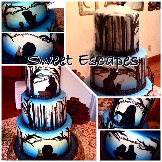 Once Upon A Time Cake #sweetescapes Www.mysweetescapes.com