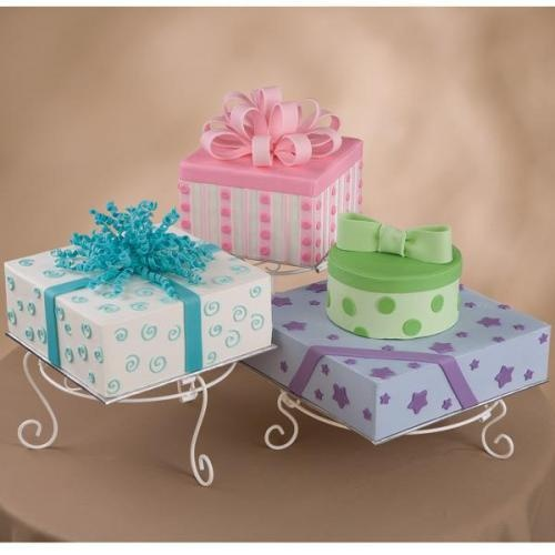 Wedding Cake Decorating Classes: 21 Best Images About Gift Box Cakes On Pinterest