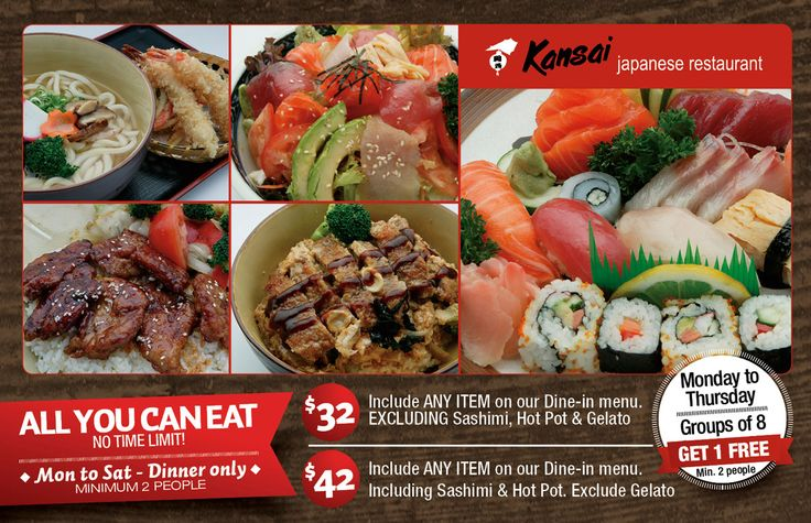 No.1 All you can eat Japanese restaurant in Sydney