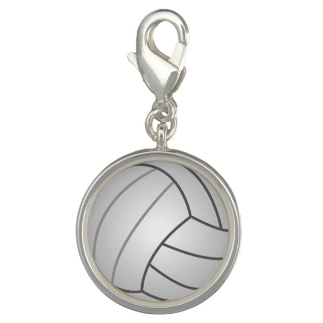Rembrandt Volleyball Charm Sterling Silver