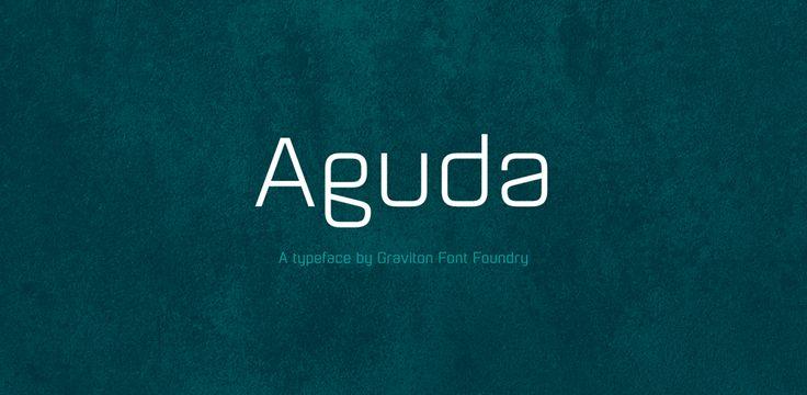 70% Off Aguda ☞ https://www.hypefortype.com/foundries/graviton/aguda.html #font #sale