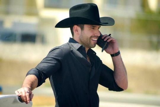 Cowboy in black