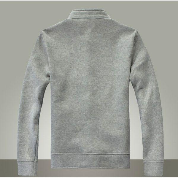 Mens FashionCotton Thick Windproof Male Hoodies Sweatshirt