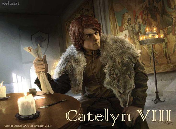 AGOT Catelyn VIII banner - Robb by 1oshuart