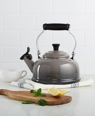 Le Creuset Classic Enamel on Steel 1.7 Qt. Whistling Tea Kettle - Cookware & Cookware Sets - Kitchen - Macy's