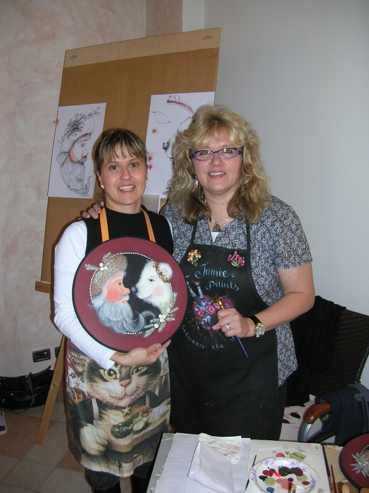 Corso country painting con Kim Houge