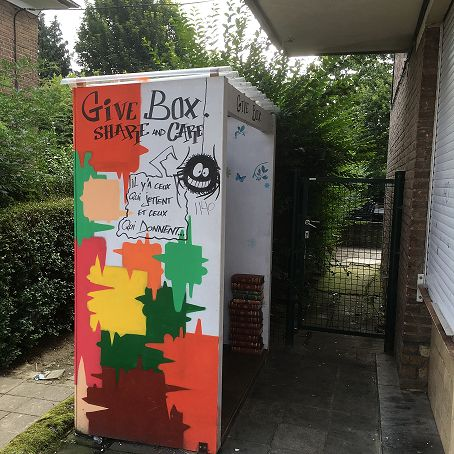 Givebox 3 - Evere (Brussel)