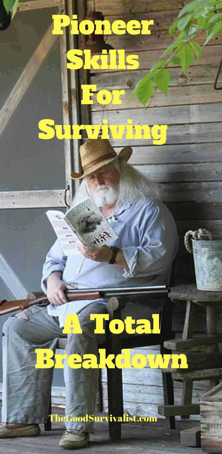 Have you ever thought about which survival skills you would need in a real SHTF situation? Learn what they are here: http://www.thegoodsurvivalist.com/homesteading-and-pioneer-skills-that-would-help-you-survive-in-a-total-breakdown/