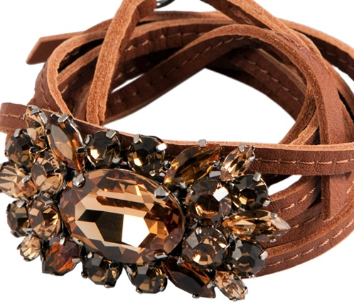 Bracelet TIF     Cuoio- Amber   HALABY