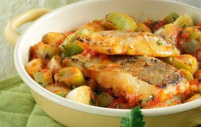 Ψάρι πλακί στο φούρνο με πράσα | Γόβα Στιλέτο