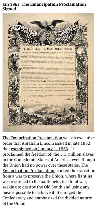 abraham lincoln issued emancipation proclamation to free all slaves in america Abolitionists had long been urging lincoln to free all slaves  abraham lincoln and the road to emancipation,  by lincoln's emancipation proclamation, issued.