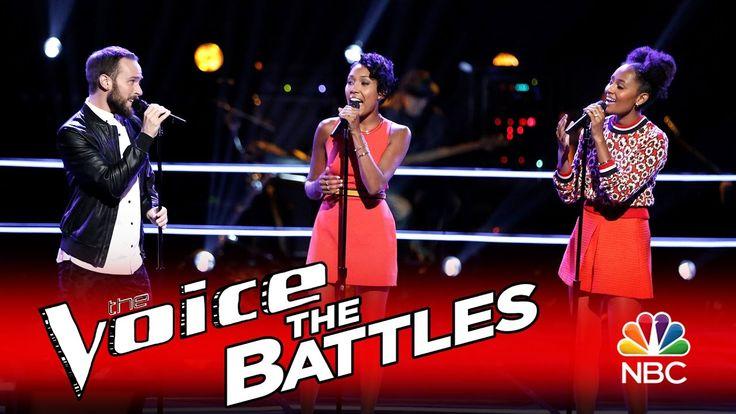 "The Voice 2016 Battle - Gabriel Violett vs. Whitney & Shannon: ""More Tha..."