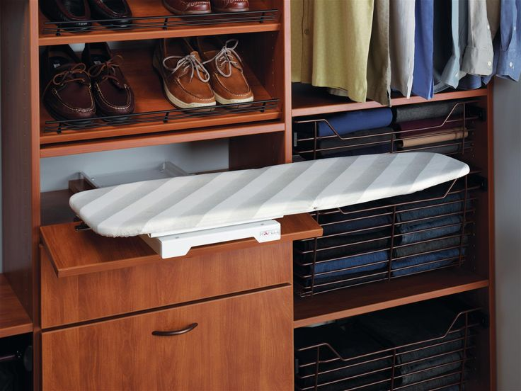 Closet Factory Works Together With Hafale To Bring Fully Functional Pull  Out Ironing Boards Into Your