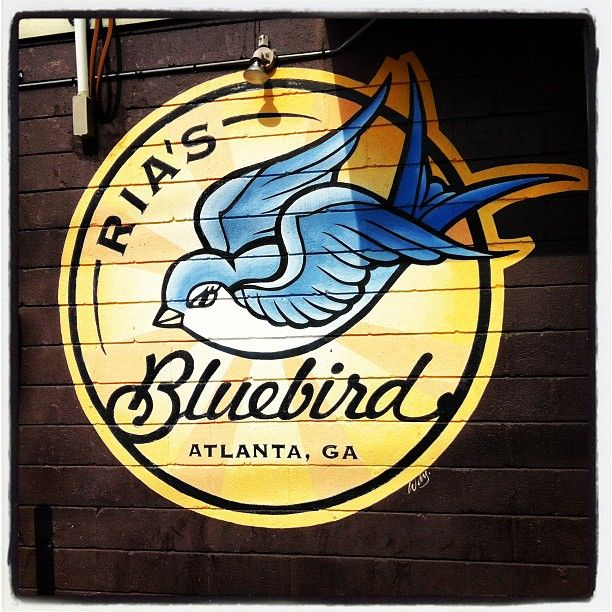 Ria's Bluebird for breakfast in Atlanta, GA