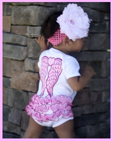 So cute!!: Angel Wings, Baby Fever, So Cute, Faithbaby Com, Baby Girls, Angel Baby, Kiddos Daughters, Baby Onesie, Baby S Toddlers Children