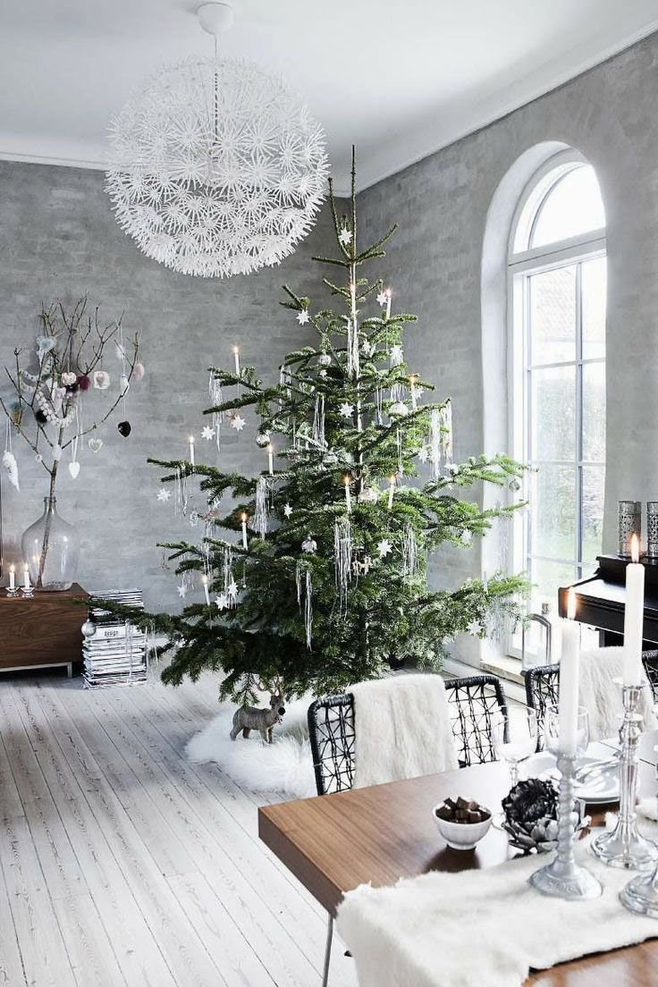 Modern christmas decor -