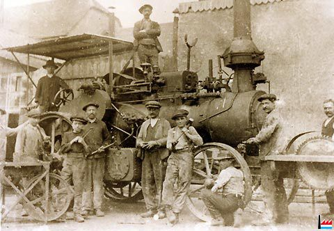 Dampmaschinen zu Lëtzebuerg