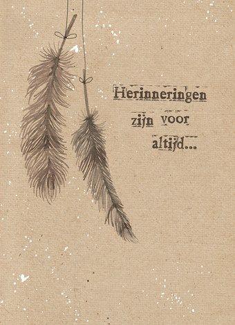 Herinneringen zijn voor altijd! #Hallmark #HallmarkNL #Wenskaart #herinnering #herinneringskaarten #sympathy #inlovingmemory #vooraltijdinmijnhart