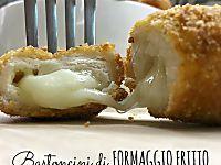Bastoncini di formaggio fritto