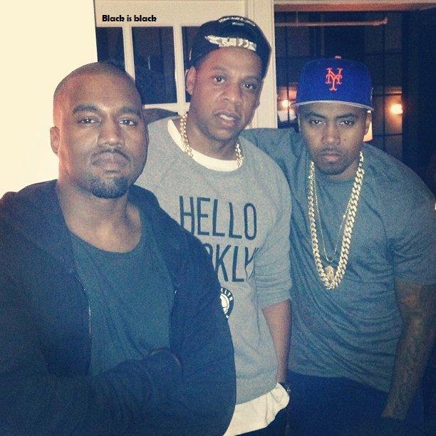 Kanye West, Jay-Z & NAS