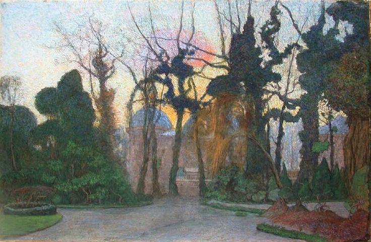 Endegeest, 1893 krijt en pastel op papier Floris Verster – Kröller-Müller Museum