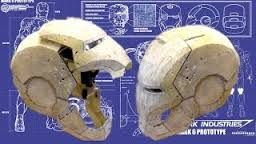 Resultado de imagen de pepakura iron man helmet download