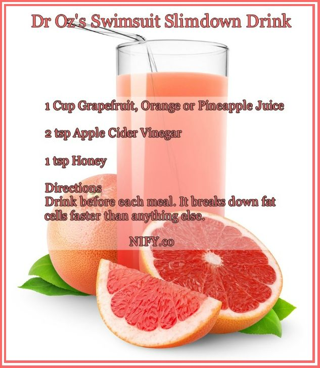 dr oz swimsuit slimdown drink - Google Search