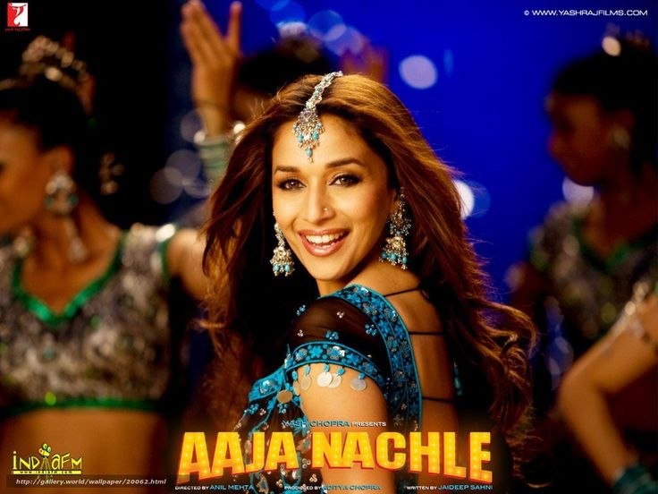 """Aaja Nachle Singer(s) : Sunidhi Chauhan Music : Salim-Sulaiman Lyrics : Piyush Mishra Movie : Aaja Nachle (2007) Music Label : Yash Raj Music  This picture shows partly of the back dancers where very often in a Bollywood film music videos would consists of incredibly many dancers to backup the """"main character""""."""
