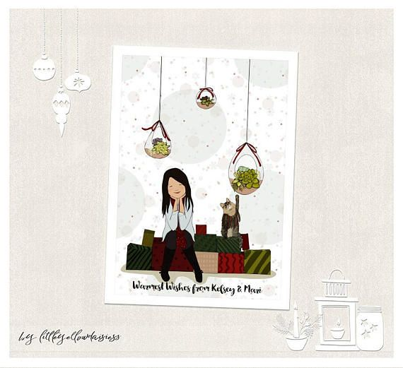 Personalized Christmas Gifts-Christmas Illustration-Family