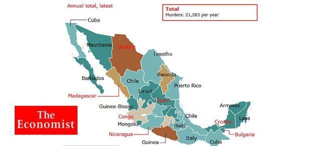 Diario Británico compara a México con países africanos