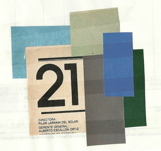 21 Collage by Liz Matha