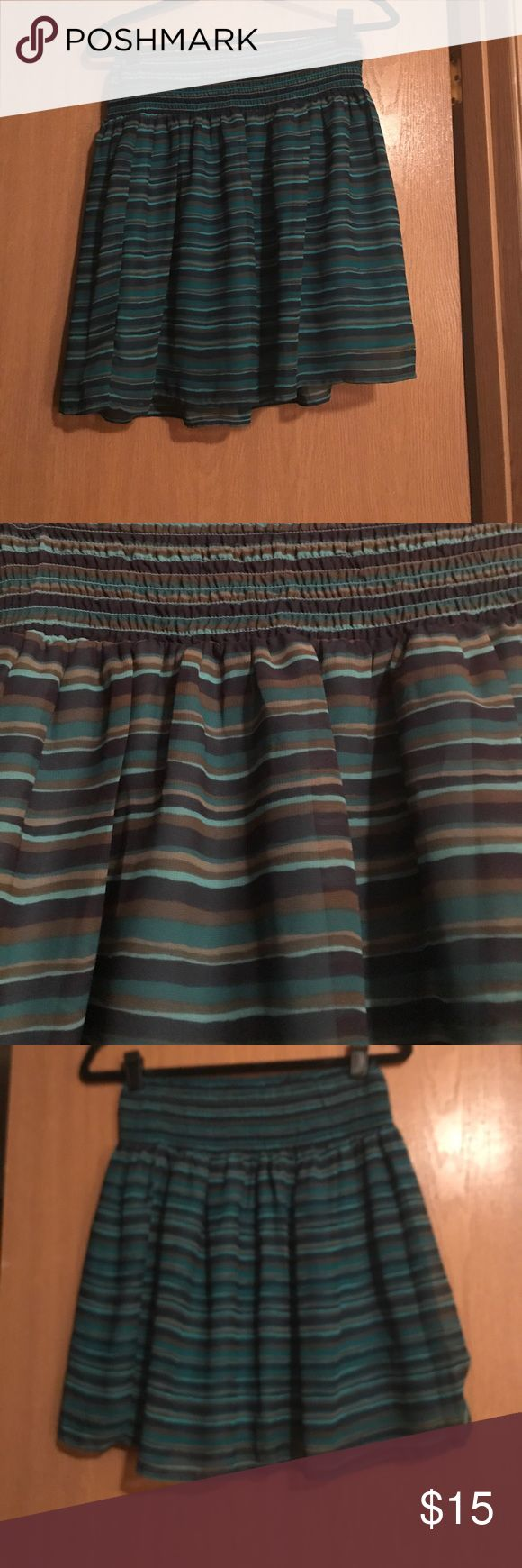 Old Navy: Striped Skirt Pairs great with the 3/4 Sleeve Cardigan also in my closet. Old Navy Skirts Mini