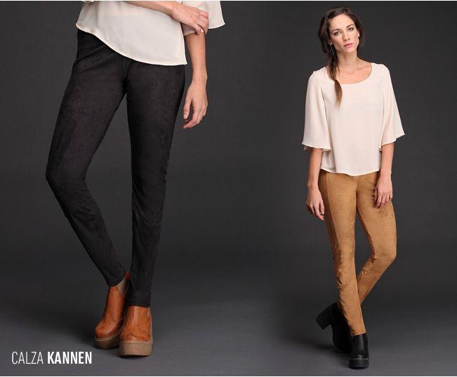 ¿Ya pediste tu Calza Kannen? De gamuza lisa y estilo folk, dos de las #tendencias de temporada, esta calza con recortes estiliza la figura. #TallesAmplios #TallesParaTodas